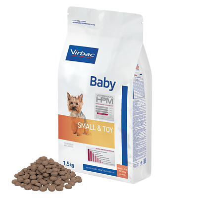 Baby Dog Small & Toy  von Virbac